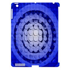 Abstract Background Blue Created With Layers Apple Ipad 3/4 Hardshell Case (compatible With Smart Cover) by Simbadda