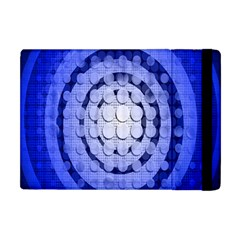 Abstract Background Blue Created With Layers Apple Ipad Mini Flip Case by Simbadda