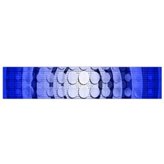 Abstract Background Blue Created With Layers Flano Scarf (small) by Simbadda