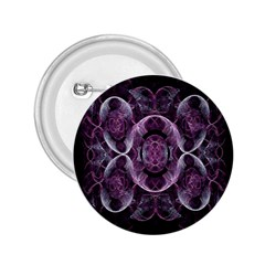 Fractal In Lovely Swirls Of Purple And Blue 2 25  Buttons by Simbadda