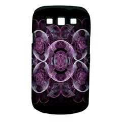 Fractal In Lovely Swirls Of Purple And Blue Samsung Galaxy S Iii Classic Hardshell Case (pc+silicone) by Simbadda