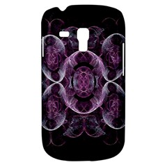 Fractal In Lovely Swirls Of Purple And Blue Galaxy S3 Mini by Simbadda