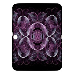 Fractal In Lovely Swirls Of Purple And Blue Samsung Galaxy Tab 3 (10 1 ) P5200 Hardshell Case  by Simbadda