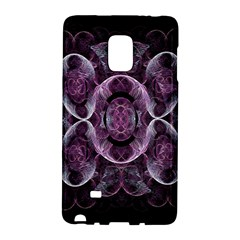 Fractal In Lovely Swirls Of Purple And Blue Galaxy Note Edge by Simbadda