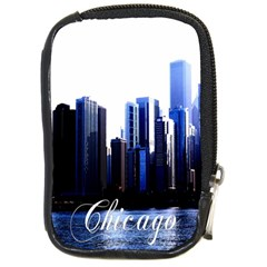 Abstract Of Downtown Chicago Effects Compact Camera Cases by Simbadda