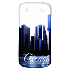 Abstract Of Downtown Chicago Effects Samsung Galaxy S3 S Iii Classic Hardshell Back Case by Simbadda
