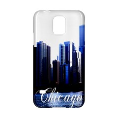 Abstract Of Downtown Chicago Effects Samsung Galaxy S5 Hardshell Case  by Simbadda