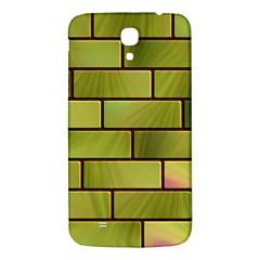 Modern Green Bricks Background Image Samsung Galaxy Mega I9200 Hardshell Back Case by Simbadda