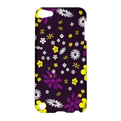 Flowers Floral Background Colorful Vintage Retro Busy Wallpaper Apple Ipod Touch 5 Hardshell Case by Simbadda