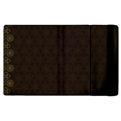 Vintage Paper Kraft Pattern Apple Ipad 2 Flip Case by Simbadda