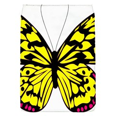 Yellow A Colorful Butterfly Image Flap Covers (s)  by Simbadda