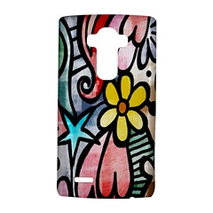 Digitally Painted Abstract Doodle Texture Lg G4 Hardshell Case by Simbadda
