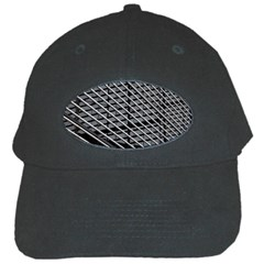 Abstract Architecture Pattern Black Cap by Simbadda