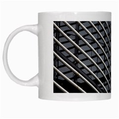Abstract Architecture Pattern White Mugs by Simbadda