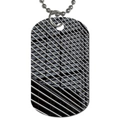 Abstract Architecture Pattern Dog Tag (one Side) by Simbadda