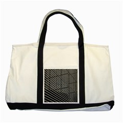 Abstract Architecture Pattern Two Tone Tote Bag by Simbadda