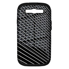 Abstract Architecture Pattern Samsung Galaxy S Iii Hardshell Case (pc+silicone) by Simbadda