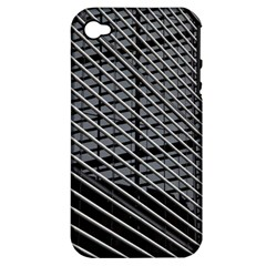 Abstract Architecture Pattern Apple Iphone 4/4s Hardshell Case (pc+silicone) by Simbadda