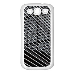 Abstract Architecture Pattern Samsung Galaxy S3 Back Case (white) by Simbadda