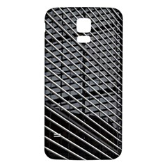 Abstract Architecture Pattern Samsung Galaxy S5 Back Case (white) by Simbadda