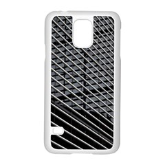 Abstract Architecture Pattern Samsung Galaxy S5 Case (white) by Simbadda