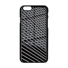 Abstract Architecture Pattern Apple Iphone 6/6s Black Enamel Case by Simbadda
