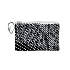 Abstract Architecture Pattern Canvas Cosmetic Bag (s) by Simbadda