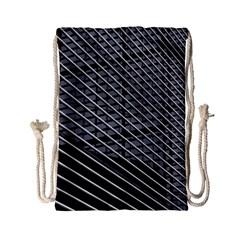Abstract Architecture Pattern Drawstring Bag (small) by Simbadda