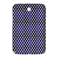 Squares Blue Background Samsung Galaxy Note 8 0 N5100 Hardshell Case  by Simbadda