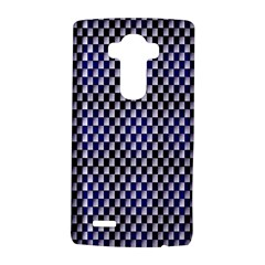 Squares Blue Background Lg G4 Hardshell Case by Simbadda