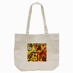 Colourful Abstract Background Design Tote Bag (cream) by Simbadda