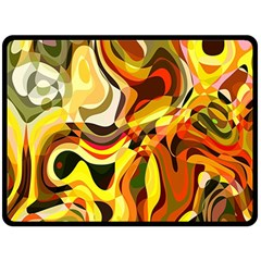 Colourful Abstract Background Design Fleece Blanket (large)  by Simbadda
