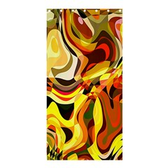 Colourful Abstract Background Design Shower Curtain 36  X 72  (stall)  by Simbadda