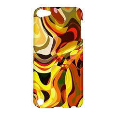 Colourful Abstract Background Design Apple Ipod Touch 5 Hardshell Case by Simbadda