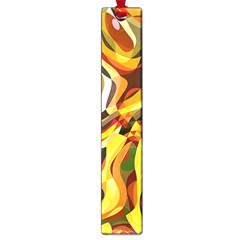 Colourful Abstract Background Design Large Book Marks by Simbadda