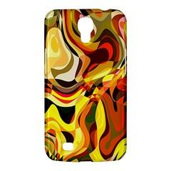 Colourful Abstract Background Design Samsung Galaxy Mega 6 3  I9200 Hardshell Case by Simbadda