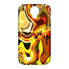 Colourful Abstract Background Design Samsung Galaxy S4 Classic Hardshell Case (pc+silicone) by Simbadda