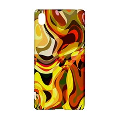 Colourful Abstract Background Design Sony Xperia Z3+ by Simbadda