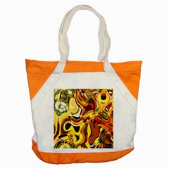 Colourful Abstract Background Design Accent Tote Bag by Simbadda
