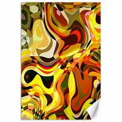 Colourful Abstract Background Design Canvas 20  X 30   by Simbadda