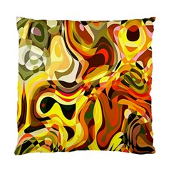 Colourful Abstract Background Design Standard Cushion Case (one Side) by Simbadda