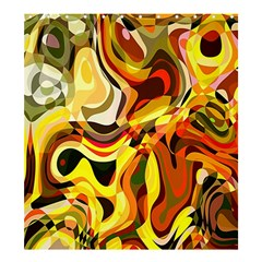 Colourful Abstract Background Design Shower Curtain 66  X 72  (large)  by Simbadda