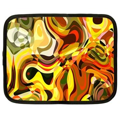 Colourful Abstract Background Design Netbook Case (xxl)  by Simbadda