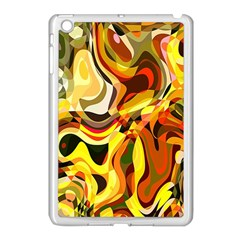 Colourful Abstract Background Design Apple Ipad Mini Case (white) by Simbadda