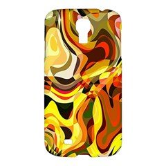 Colourful Abstract Background Design Samsung Galaxy S4 I9500/i9505 Hardshell Case by Simbadda