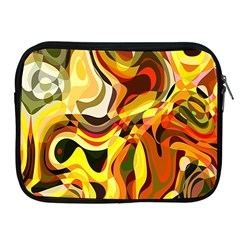Colourful Abstract Background Design Apple Ipad 2/3/4 Zipper Cases by Simbadda
