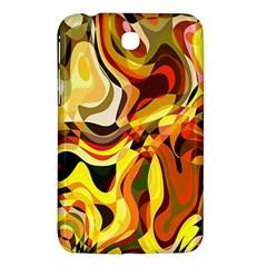 Colourful Abstract Background Design Samsung Galaxy Tab 3 (7 ) P3200 Hardshell Case  by Simbadda