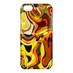 Colourful Abstract Background Design Apple Iphone 5c Hardshell Case by Simbadda