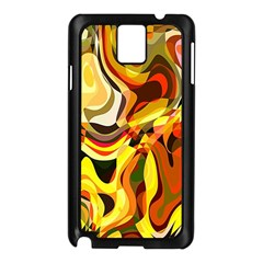 Colourful Abstract Background Design Samsung Galaxy Note 3 N9005 Case (black) by Simbadda