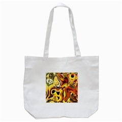 Colourful Abstract Background Design Tote Bag (white) by Simbadda